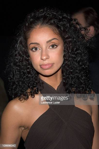 Mya during Ford Supermodel of the Year Runway Show January 18 2006 at Skylight Studios in New York City New York United States