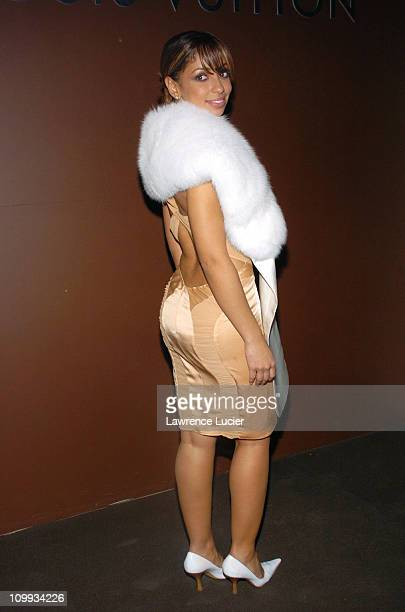 Mya during Louis Vuitton Celebrates its 150th Anniversary at Lincoln Center in New York City New York United States