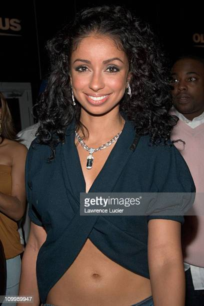 Mya during Olympus Fashion Week Fall 2006 Baby Phat Outside Arrivals and Departures at Bryant Park in New York City New York United States
