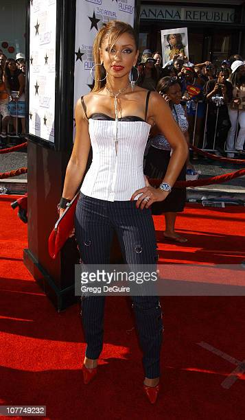 Mya during The 3rd Annual BET Awards Arrivals at The Kodak Theater in Hollywood California United States