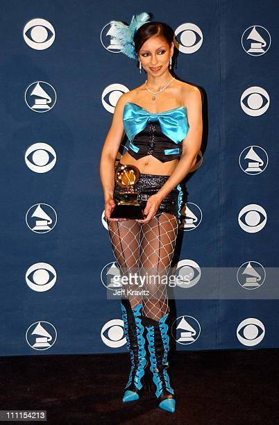 Mya during The 44th Annual Grammy Awards at Staples Center in Los Angeles California United States