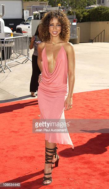 Mya during The 8th Annual Soul Train Lady Of Soul Awards Arrivals at Pasadena Civic Auditorium in Pasadena California United States