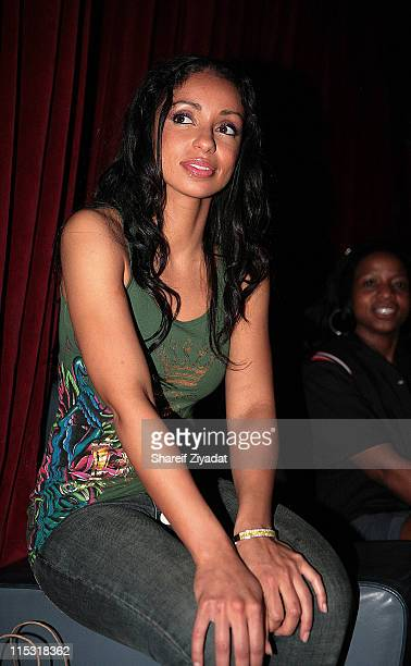 Mya during Universal Bowling Party at Lucky Strike in Miami Florida United States