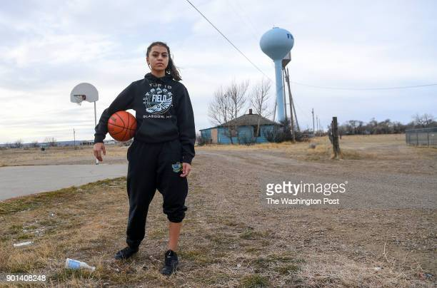 Mya Fourstar is a promising sophomore basketball player for the Frazer Lady Bearcubs on the Fort Peck Indian Reservation in the northeast corner of...