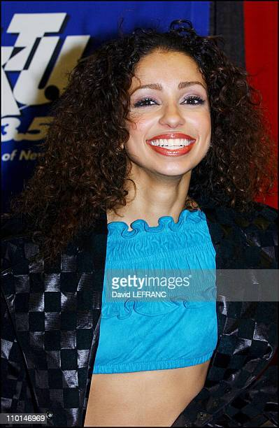 """Mya - In New York City, the radio WKTU hosted its fourth annual """"KTU Miracle on 34th street"""" holiday concert at Madison Square Garden to a sold out..."""