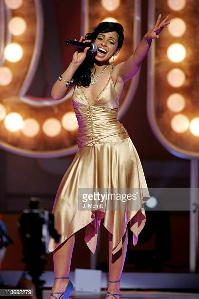Mya performs Last Dance in tribute to Don Cornelius and Soul Train winner of the Discretionary Award Pop Culture