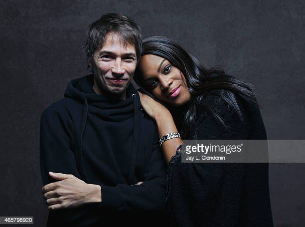 Mya Taylor and Sean Baker from the film 'Tangerine' pose for a portrait for the Los Angeles Times at the 2015 Sundance Film Festival on January 24...