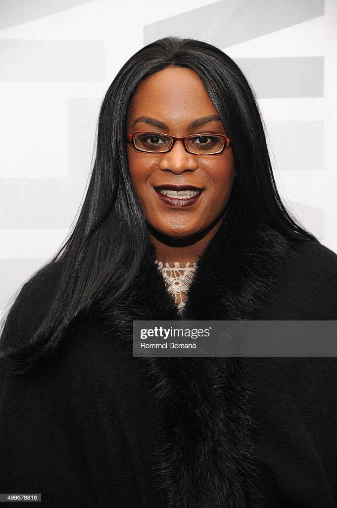 Mya Taylor attends 'Tangerine' New York Special Screening at MoMA Titus One on December 2, 2015 in New York City.
