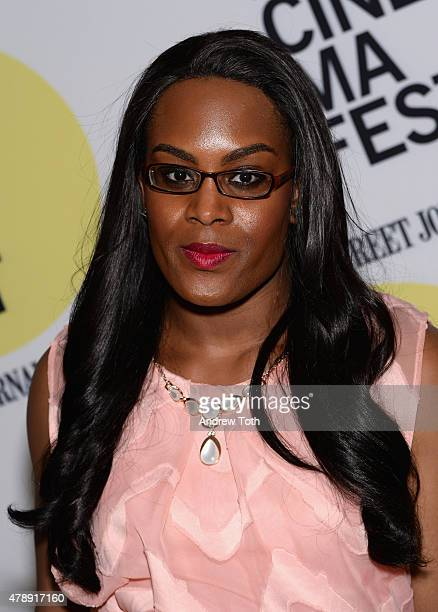 Mya Taylor attends the Tangerine closing night premiere during BAMcinemaFest 2015 at BAM Peter Jay Sharp Building on June 28 2015 in New York City