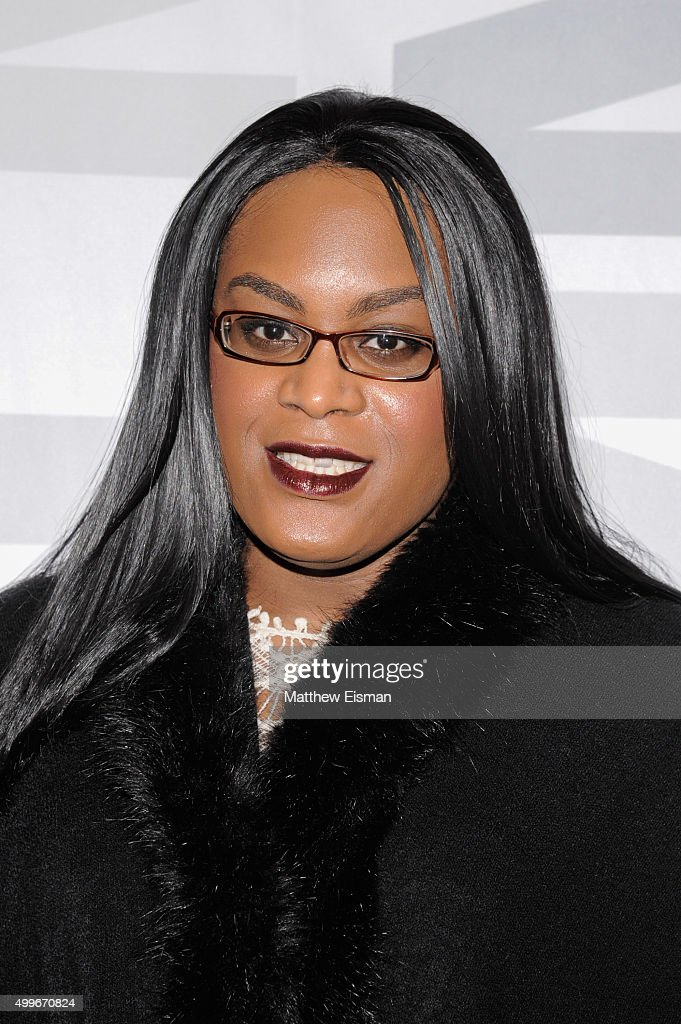 Mya Taylor attends the 'Tangerine' New York screening at MoMA Titus One on December 2, 2015 in New York City.