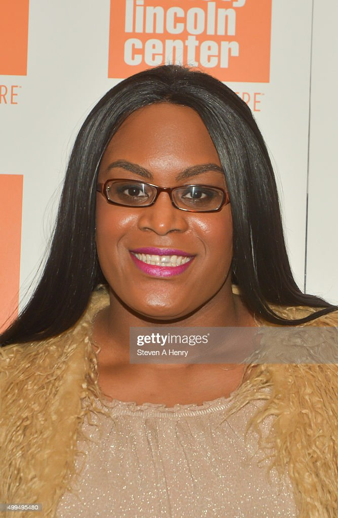 Mya Taylor attends the 'Tangerine' New York screening hosted by Laverne Cox at the Elinor Bunin Munroe Film Center on December 1, 2015 in New York City.