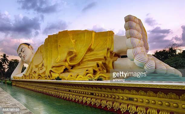 Mya Tha Lyaung Reclining Buddha, Bago Region, Myanmar