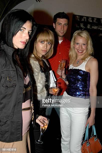 Myan Zilberman Sara Fleur Jason O'Mara and attend SoHo Grand Hotel's 'The Yard' Lounge opens with Nat Finkelstein Exhibit at SoHo Grand Hotel on June...