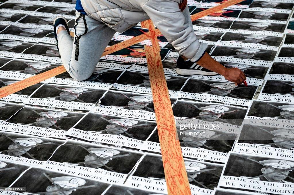JAPAN-MYANMAR-POLITICS : News Photo