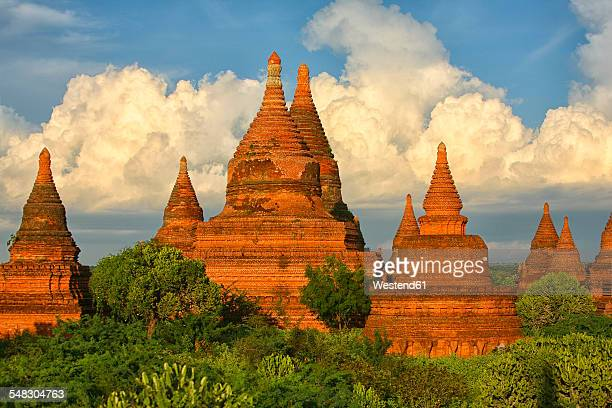 Myanmar, archaelogical site of Bagan