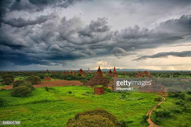 Myanmar, archaelogical site of Bagan