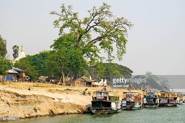 MMR Myanmar Burma Birma Mingun IrrawaddyFluss Aufnahmedatum2013 Asien Reise Reiseziel Torurismust