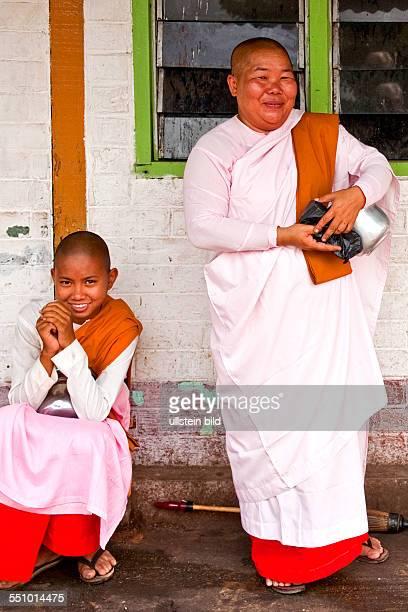 Myanmar, Burma, Birma, Yangoon, Aufnahmedatum:2013, Asien, Reise, Reiseziel, Gemuesemarkt Thiri Mingaleay, Markt, Markstand, Verkaufer, Verkaeuferin,...