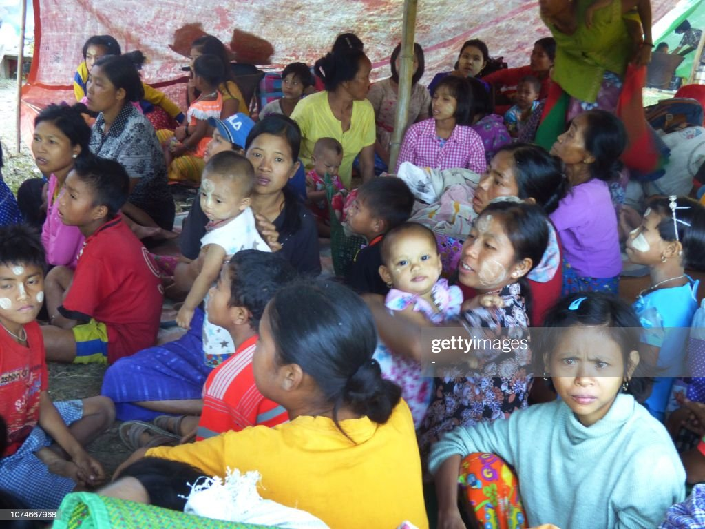 MYANMAR-UNREST : News Photo