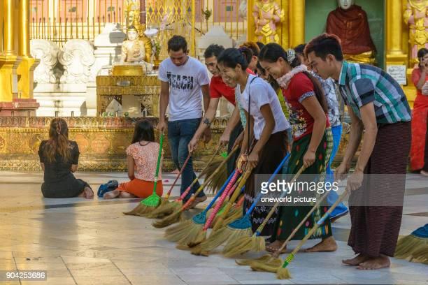Myanmar Yangon Region Yangon Shwedagon Pagoda