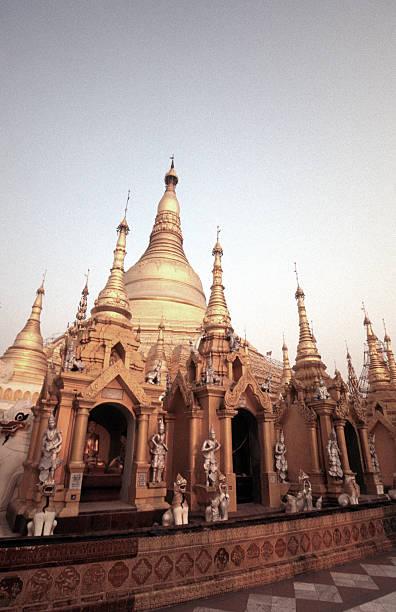 Myanmar, Yangon, the Shwedagon Pagoda complex