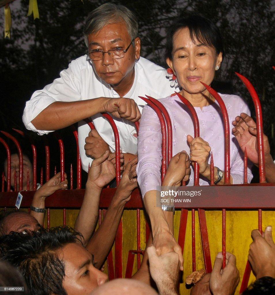 MYANMAR-POLITICS-OPPOSITION-SUUKYI : News Photo