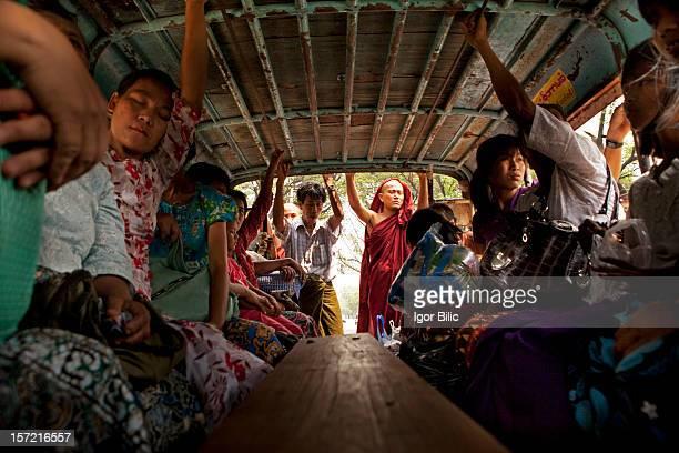 Myanmar's tuc tuc