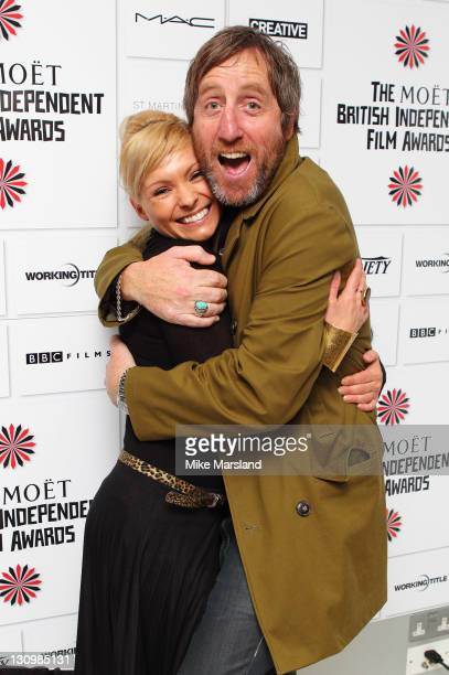 MyAnna Buring and Michael Smiley attend the nominations announcement of The Moet British Independent Film Awards at St Martin's Lane Hotel on October...