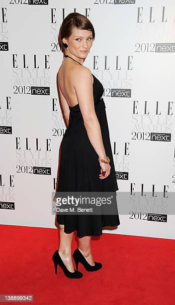 MyAnna Buring arrives at the ELLE Style Awards at The Savoy Hotel on February 13 2012 in London England