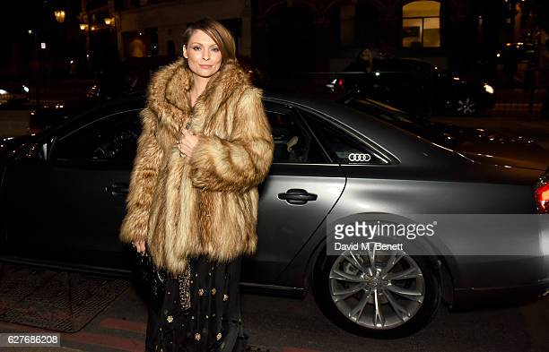 MyAnna Buring arrives in an Audi at the British Independent Film Awards at Old Billingsgate Market on December 4 2016 in London England