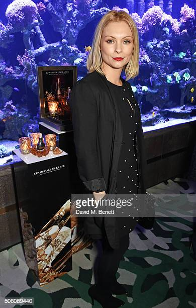 MyAnna Buring attends a private dinner hosted by Creme de la Mer to celebrate the launch of Genaissance de la Mer the Serum Essence available...