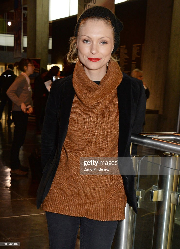 MyAnna Buring attends a screening of 'Lost In Karastan' during the 4th annual LOCO London Comedy Film Festival at BFI Southbank on January 22, 2015 in London, England.