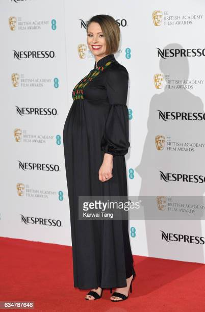 MyAnna Buring attends the BAFTA nominees party at Kensington Palace on February 11 2017 in London United Kingdom