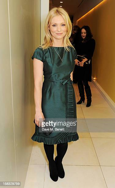 MyAnna Buring attends the English National Ballet Christmas Party at St Martins Lane Hotel on December 13 2012 in London England