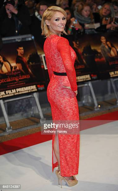 MyAnna Buring attends the UK premiere of The Twilight Saga Breaking Dawn Part 1 at Westfield Stratford City on November 16 2011 in London