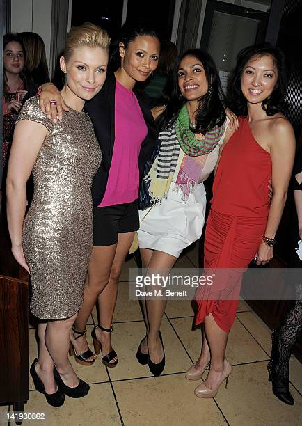 MyAnna Buring Thandie Newton Rosario Dawson and Michelle Yue attend an after party for 'A Memory A Monologue A Rant And A Prayer' a onenight only...