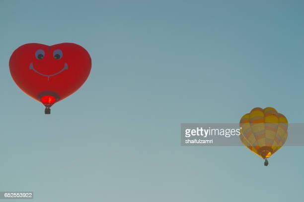 myballoon fiesta in putrajaya, malaysia - zone d'exclusion aérienne photos et images de collection