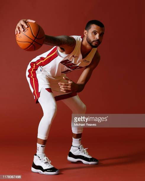 Mychal Mulder of the Miami Heat poses for a portrait during media day at American Airlines Arena on September 30 2019 in Miami Florida NOTE TO USER...