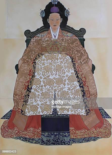 Myeongseong Empress of Korea Found in the collection of Gyeonggido Myeongseong Memorial Artist Anonymous