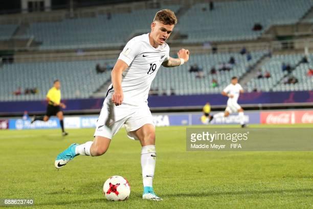 Myer Bevan of New Zealand during the FIFA U20 World Cup Korea Republic 2017 group E match between New Zealand and Honduras at Cheonan Baekseok...