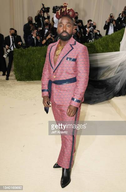 Mykal Kilgore attends The 2021 Met Gala Celebrating In America: A Lexicon Of Fashion at Metropolitan Museum of Art on September 13, 2021 in New York...