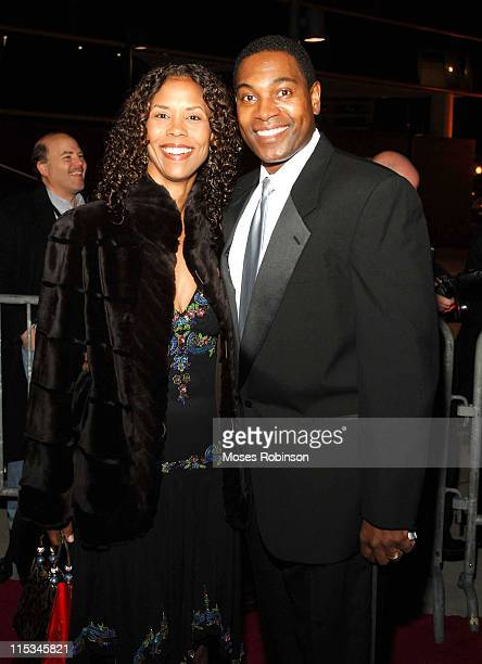 Mykelti Williamson and his wife Sondra during Muhammad Ali Center Grand Opening Red Carpet at Muhammed Ali Center in Louisville Kentucky United States