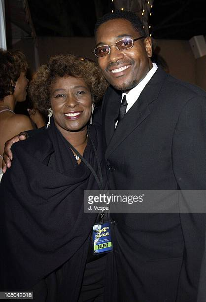 Mykelti Williamson and mother during 34th NAACP Image Awards - Zino Platinum Talent Lounge at Universal Amphitheatre in Universal City, California,...