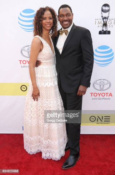 Mykelti Williamson and Sondra Spriggs arrive at the 48th NAACP Image Awards at Pasadena Civic Auditorium on February 11 2017 in Pasadena California