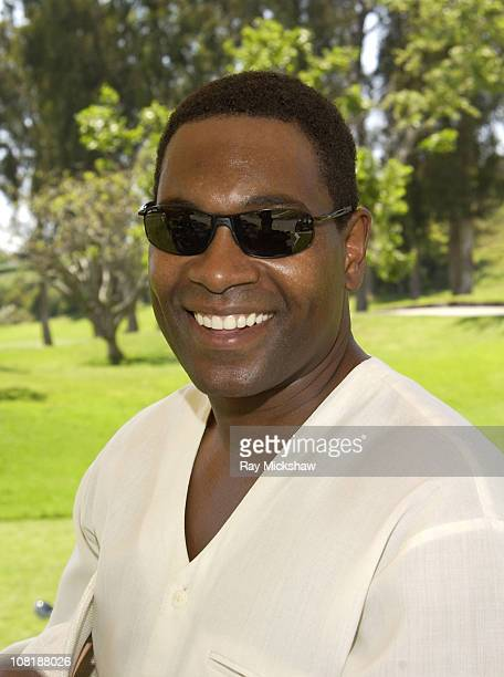 """Mykelti Williamson from """"Forrest Gump"""" wearing Carrera Hurons Sunglasses"""