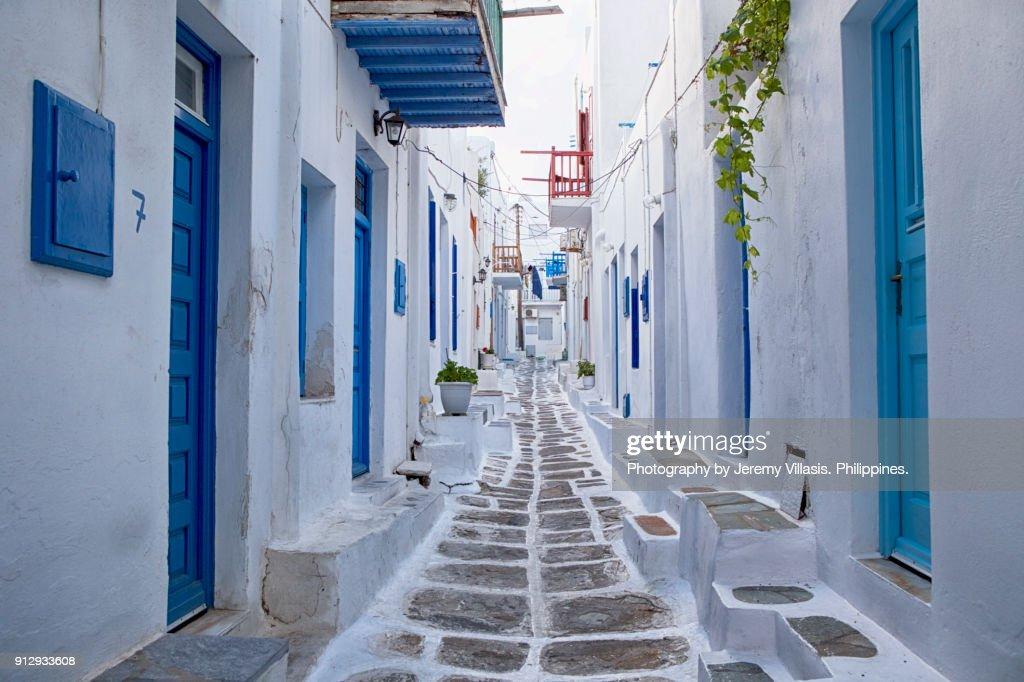 Mykonos, Greece : Stock Photo