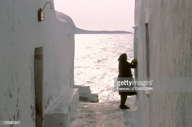 Mykonos Greece The Cyclades Mykonos Island