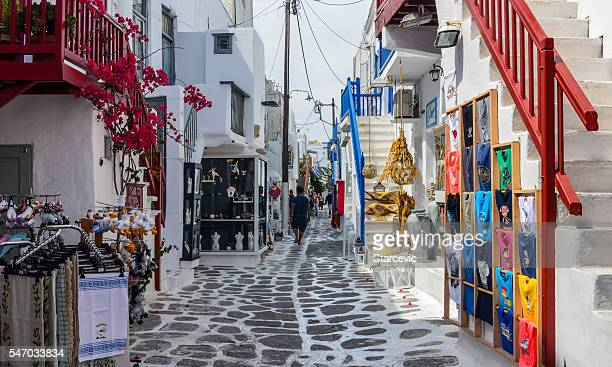 Mykonos, Greece - Typical Cyclades Architecture