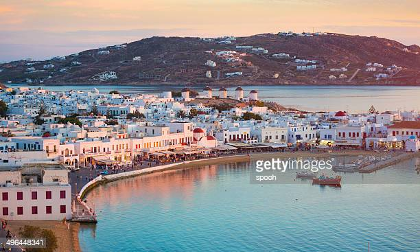 mykonos in greece - greece stock pictures, royalty-free photos & images