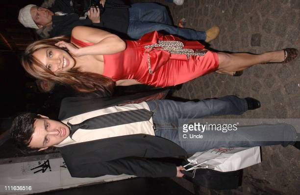 Myleene Klass and guest during ELLE Style Awards 2006 After Party at Atlantis Gallery Old Truman Brewery in London Great Britain